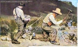 gustave courbet - gli spaccapietre 1849